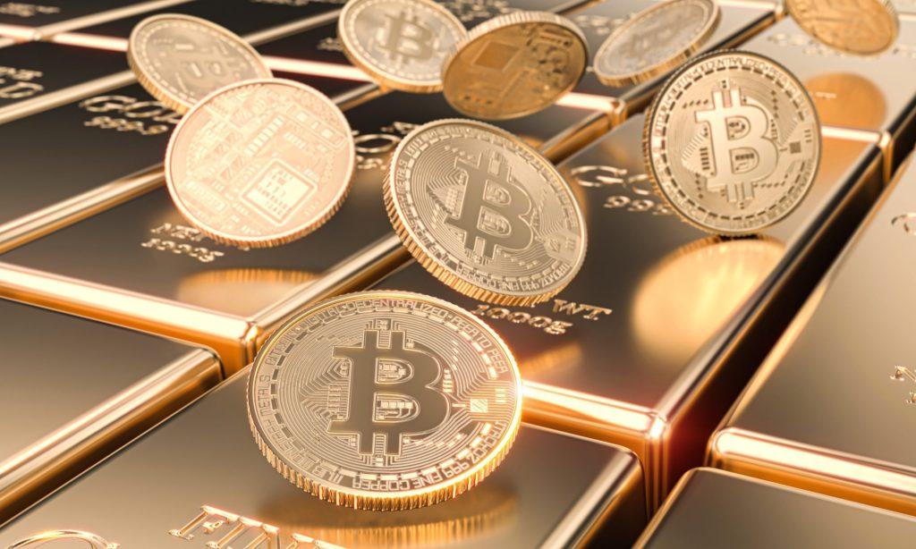 ゴールドとビットコイン