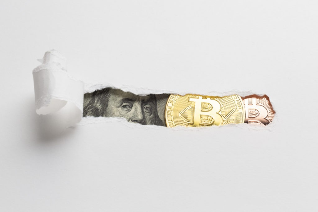 ビットコインと法定通貨