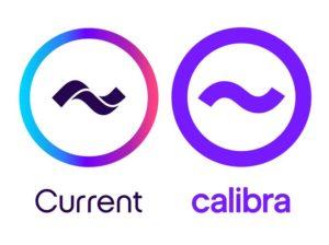カレントとカリブラのロゴ
