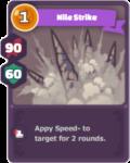 Speed down